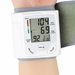 Blood Pressure Monitor Wrist Cuff Digital Automatic