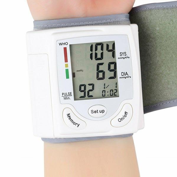 Blood Pressure Monitor Wrist Cuff Digital Automatic