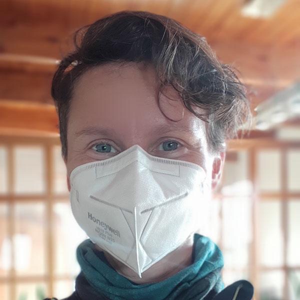 N95 Face Mask Respirator Honeywell Unvalved